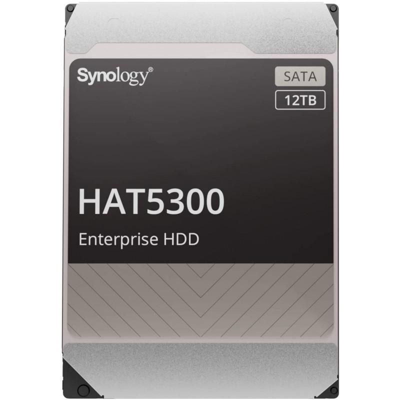 [해외] [NAS용 HDD]Synology HAT5300-12T[12TB 3.5SATA 7 200rpm/엔터프라이즈 그레이드 HDD(MTTF250만, 1