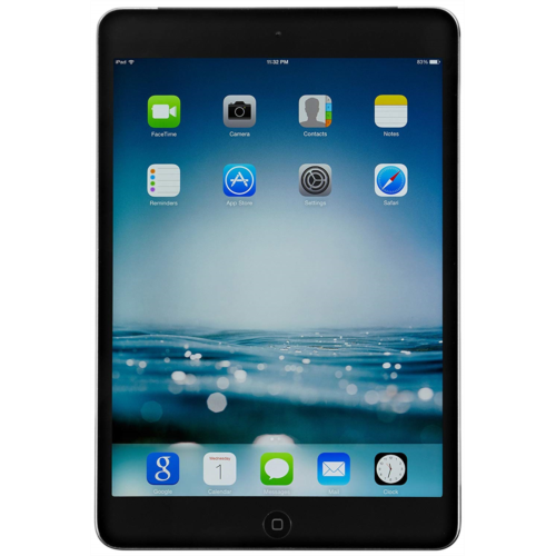 v519827 apple ipad mini 2 with retina display mf083ll/a (32gb wi-fi + cell, 128 GB, Silver