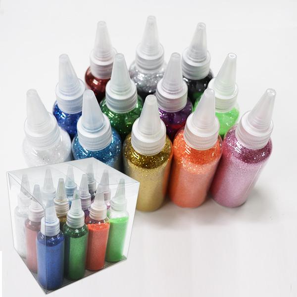 펄가루 색깔가루 60ml 대용량 반짝이가루 12색 세트