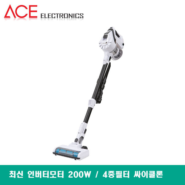 에이스 차이슨 무선 진공청소기 AVG-TS8400B 스틱청소기