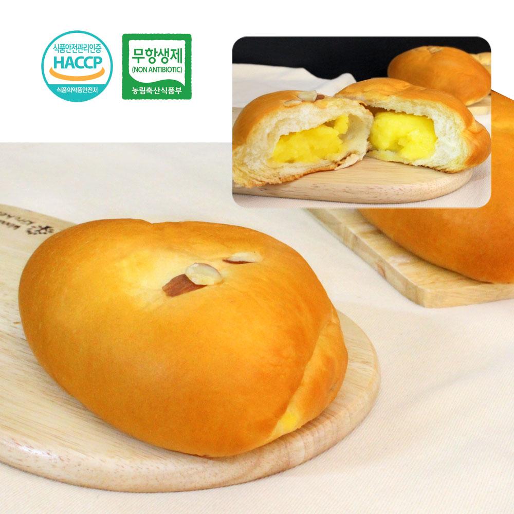 드림푸드 빵굽네 수제 슈크림빵 개별보장 10개 1BOX, 1개