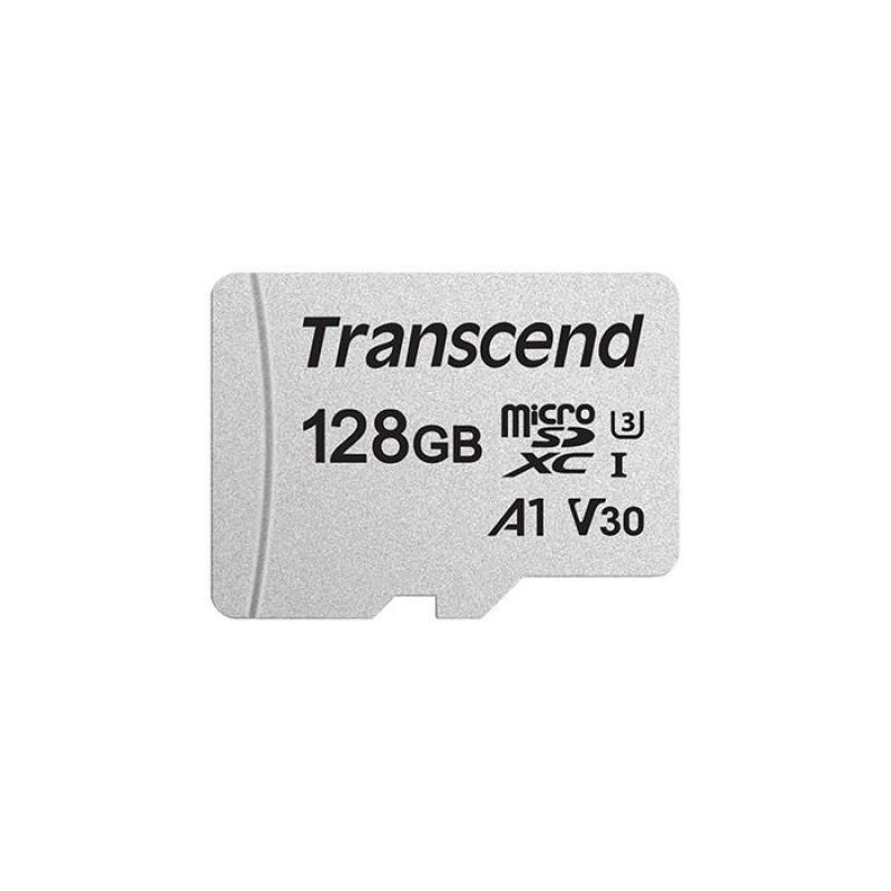 《새 액세서리)Transcend(토랑셍도)microSDXC카드 128GB V30 UHS-I U3A1(TLC)TS128GUSD300S[KK9N0D18P]-18-2152053649