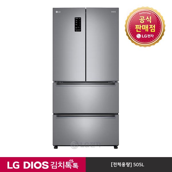 LG전자 DIOS 김치톡톡 스탠드 김치냉장고 K510S14, 단일상품