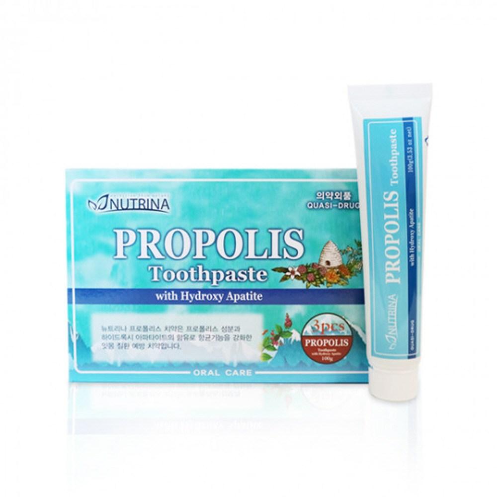 프로폴리스 치약 입냄새제거치약 구취제거치약 구내염치약 안티프라그치약 3개세트, 단일상품