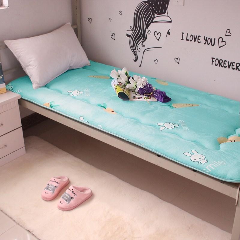 토퍼 템퍼 매트리스 침구 기타 싱글 학생 기숙사 털 퍼 다운 침대 요, AH_90 x 200