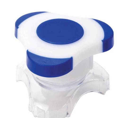 리빙꾸러미 알약분쇄기, 블루, 1개 (POP 5069520343)