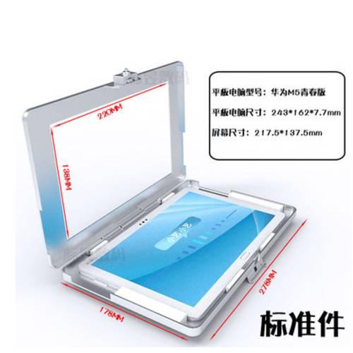 화웨이 M5 안드로이드 10.1 인치 벽걸이 테블릿 PC 방범도난방지 거치대 케이, 상세내용참조