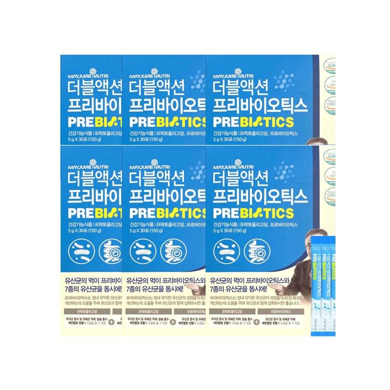 메이준뉴트리 이승남 더블액션 프로바이오틱스 5g x 30포, 6개