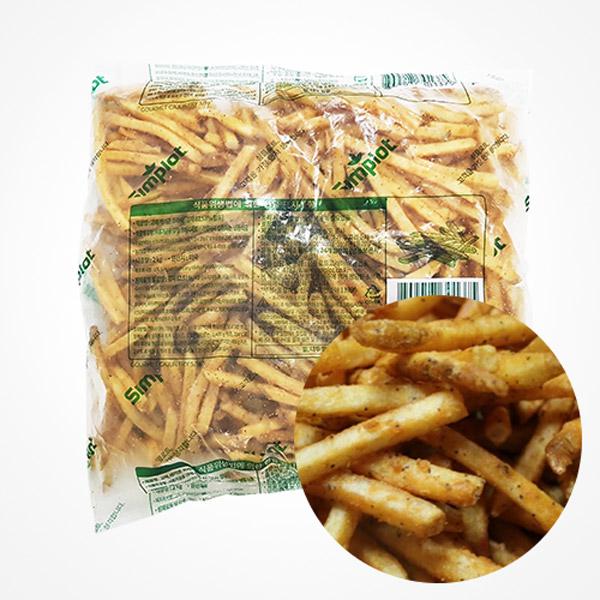 (주)푸드킹 케이준 감자튀김2kg, 2kg, 1봉