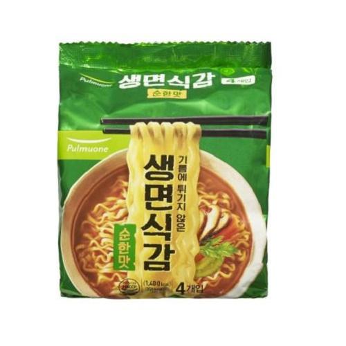[풀무원] 생면식감 순한맛 4입번들, 1팩