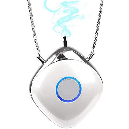 Wonder Warmer Oxy-Angel Personal Travel Mini Portable Air Purifier Negative Ion Purifier Necklace, One Color_One Size, 상세 설명 참조0, 상세 설명 참조0