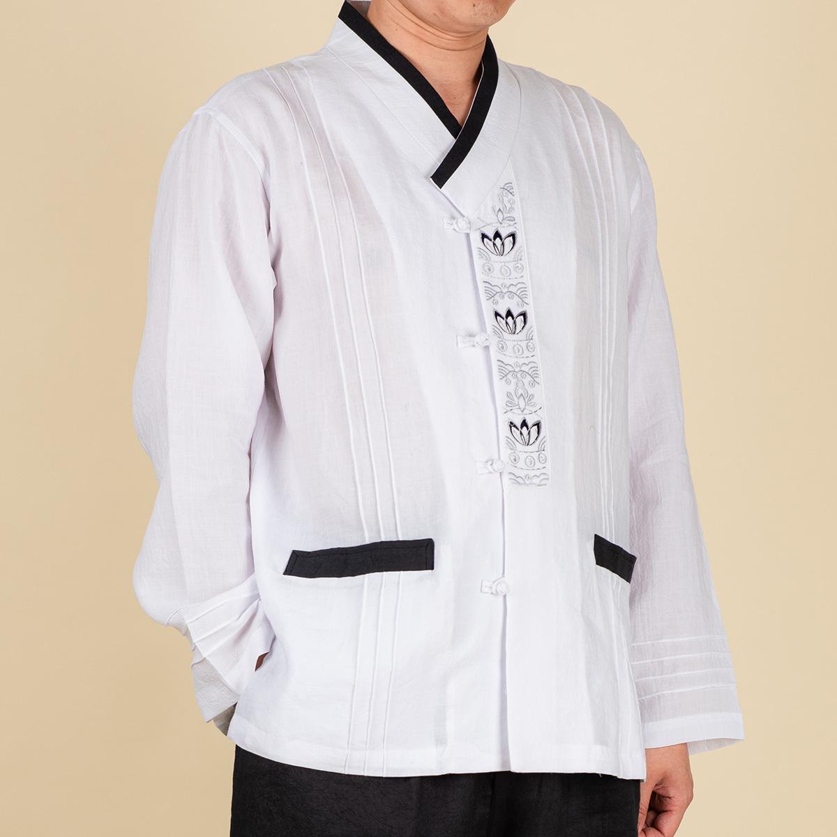 다오네우리옷 남자-다솔 자수 마 적삼 생활한복(개량한복)