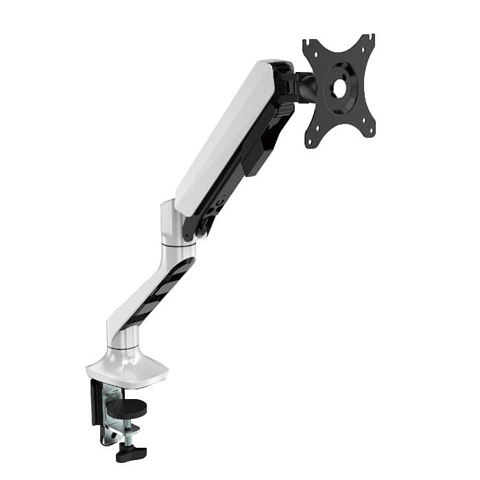 맘스탠드 모니터암 거치대 MS S1 Basic 32인치 최대 9kg 고성능 가스스프링 프리미엄형 싱글모니터거치대