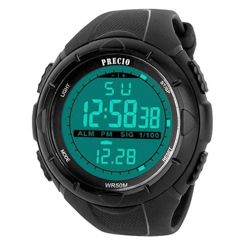 프레시오 군인 군용 방수전자손목시계