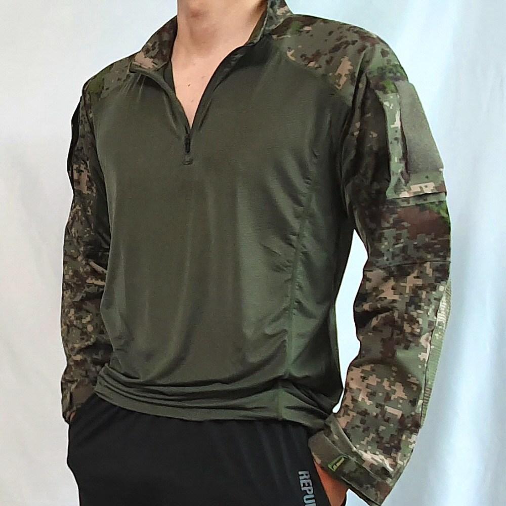 육군 신형 전술 컴뱃셔츠 군인 군대 군용 택티컬