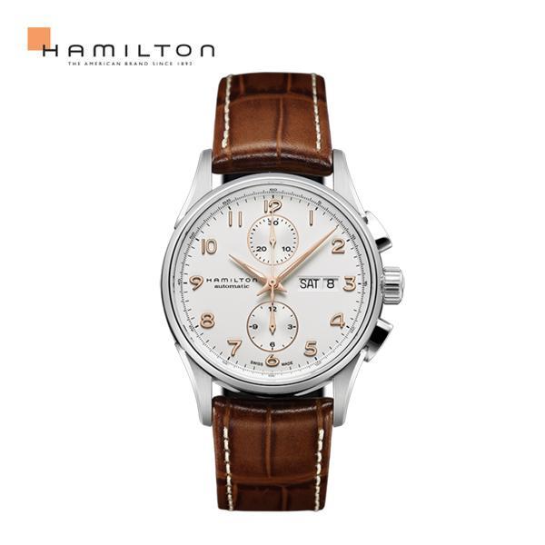 [해밀턴] 남성가죽시계 재즈마스터 H32576515