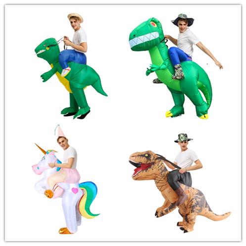 (나혼자 산다 김영광)할로윈데이 코스튬의상 유니콘 공룡 풍선옷
