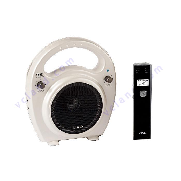 브이씨랜드 강의용 무선마이크 앰프 라이보 FW-35UN LIVO 기가폰