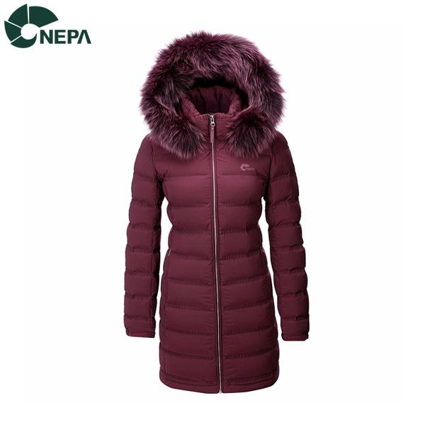네파 NEPA 네파 여성 로드스터엘라튜브 구스다운자켓 다크와인 7F82048