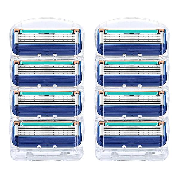 질레트 호환용 면도날 퓨젼 파워 프로글라이드 전동 프로쉴드, 4입2팩(1세트)