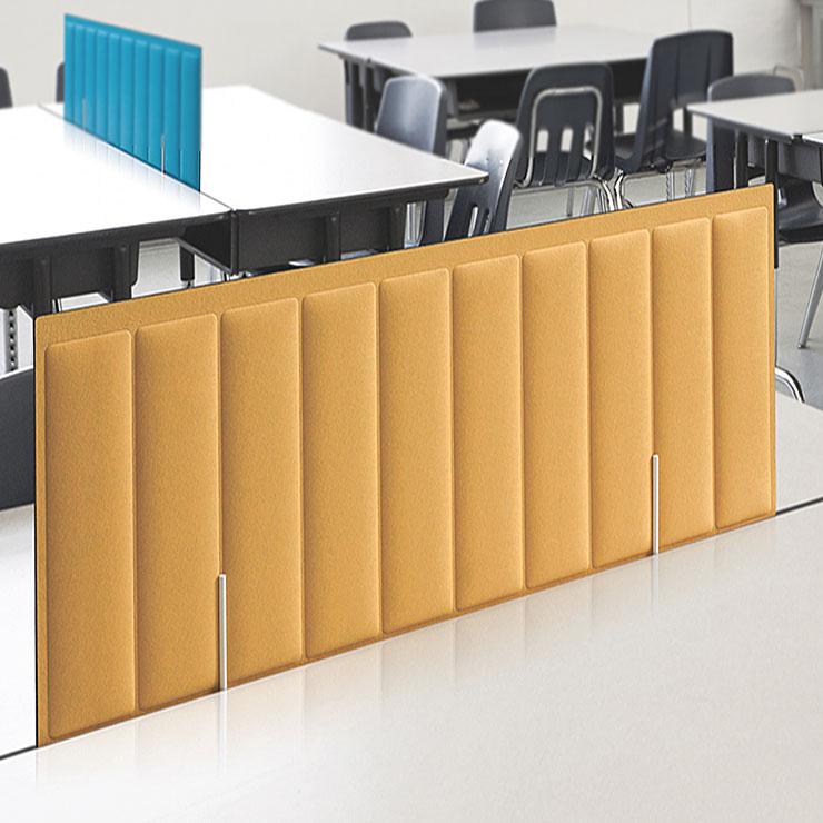 플랜맥스 책상스크린 소리먹는 파티션 책상칸막이-고정형, C201