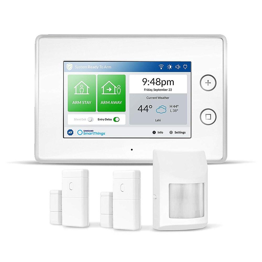 Samsung SmartThings ADT Security 삼성 스마트 현관문 모션 센서 사이렌 알람 보안 2164g(76.3oz)