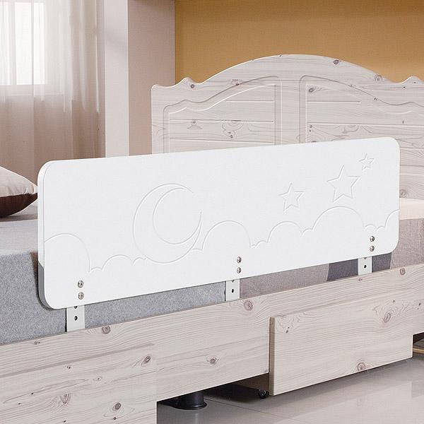 젠티스 침대안전가드, 화이트 120cm