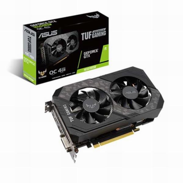 ASUS TUF Gaming 지포스 GTX 1650 SUPER O4G D6 4GB 그래픽카드, TUF Gaming 지포스 GTX 1650 SUPER O4G D6 4GB 그래픽카드/16501