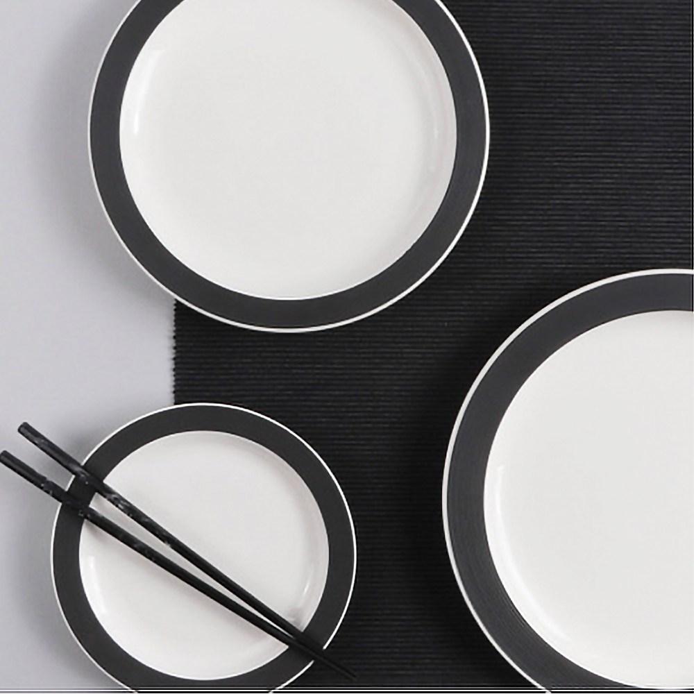 베르사유 접시 수입그릇 식빵접시 레트로그릇 명품그릇