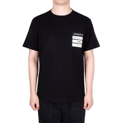메종 마르지엘라 20SS 블랙 스테레오타입 티셔츠 S50GC0609 S23594 900
