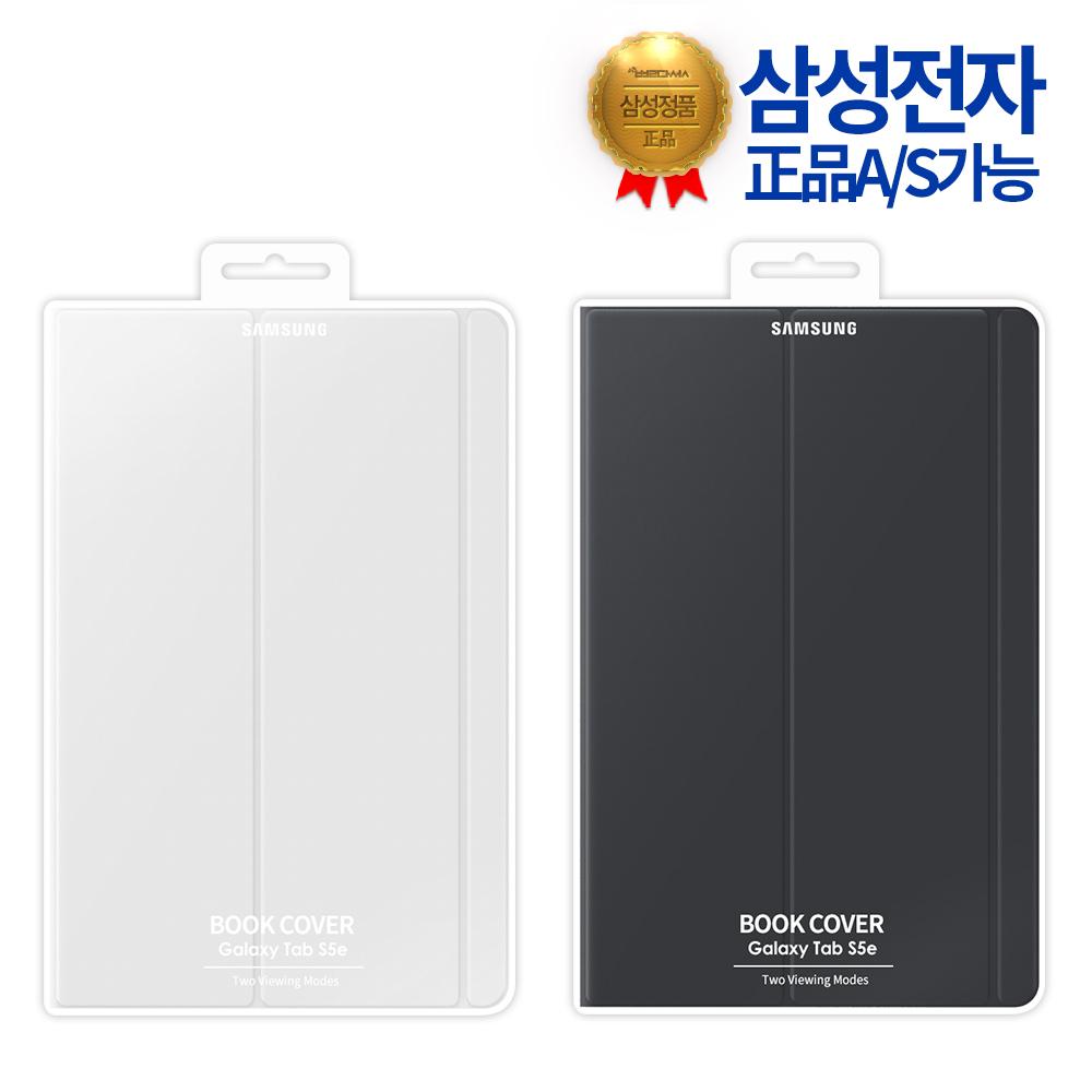 삼성 정품 갤럭시탭S5e 10.5 북커버 케이스 T720 T725, 블랙