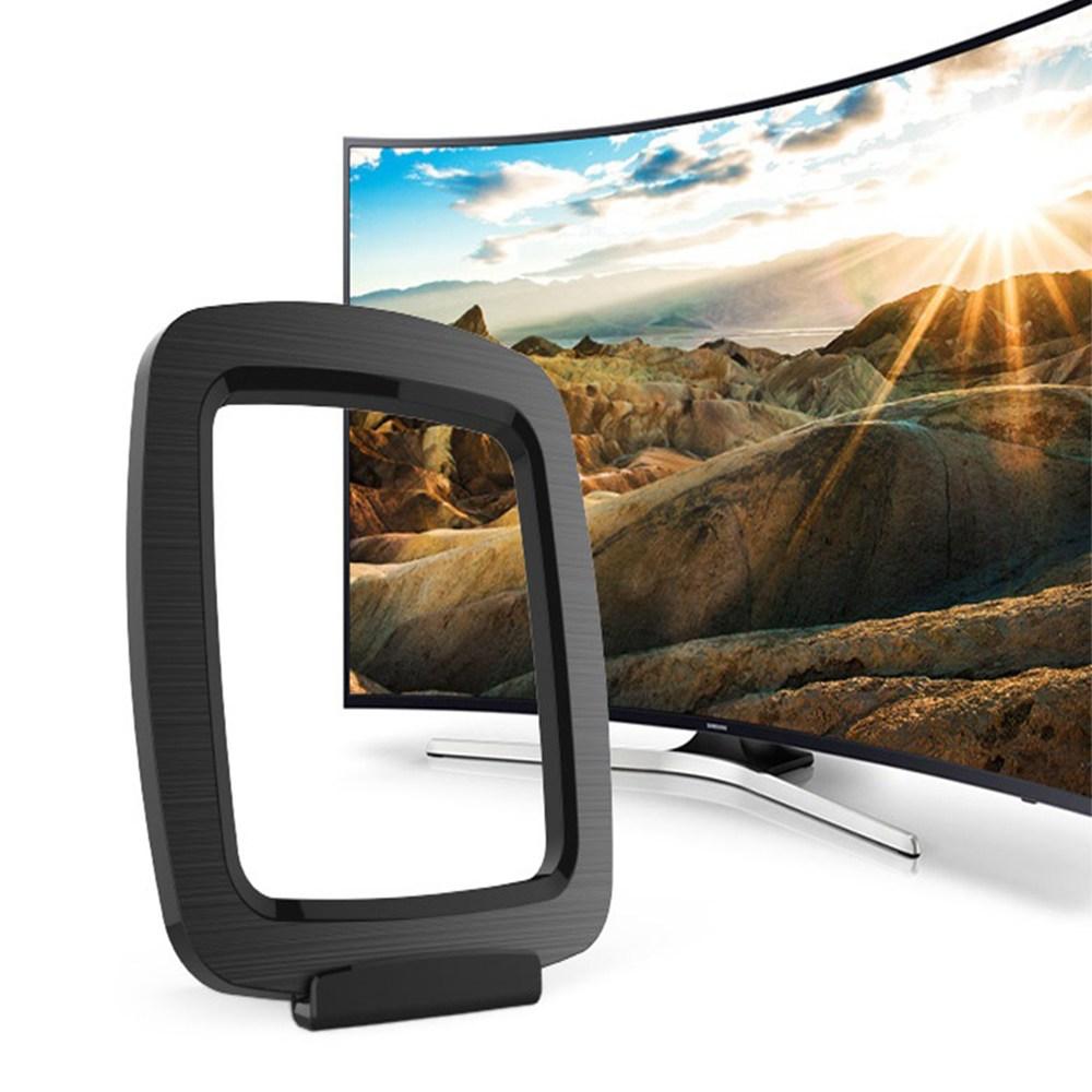 윤마켓 무료로 즐기는 고화질 디지털 TV 실내용 안테나 수신기, 실내용안테나