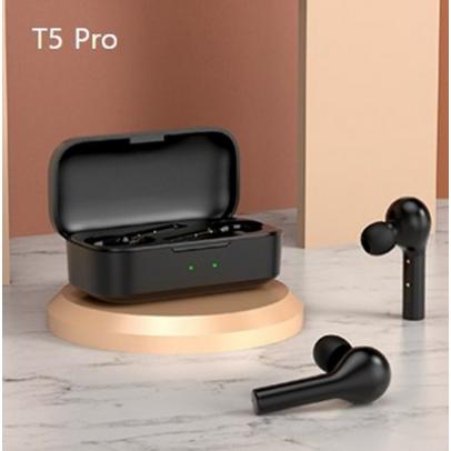 큐씨와이 QCY T5 Pro 블루투스 이어폰 스마트 35시간 최장항속 블랙