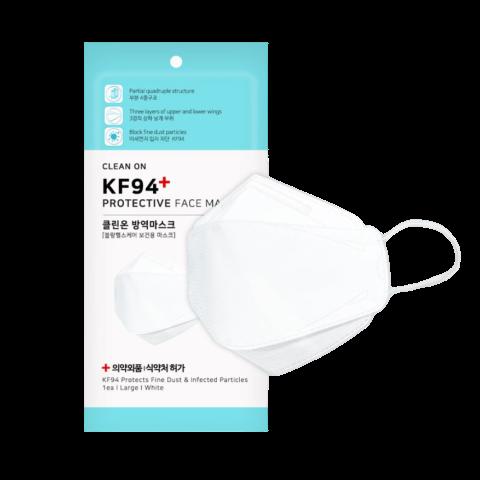 클린온 KF94 국내생산 마스크 대형 1매(개별포장), 1매, 1매