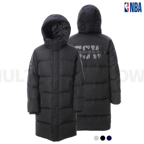 NBA 유니 골든 스테이트워리어스 롱다운(N184DW010P)