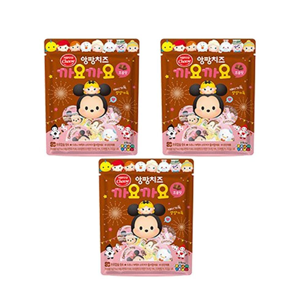 서울우유 앙팡치즈 까요까요 종류별 선택3봉(딸기 초코 플레인), 1개, 초코 3봉