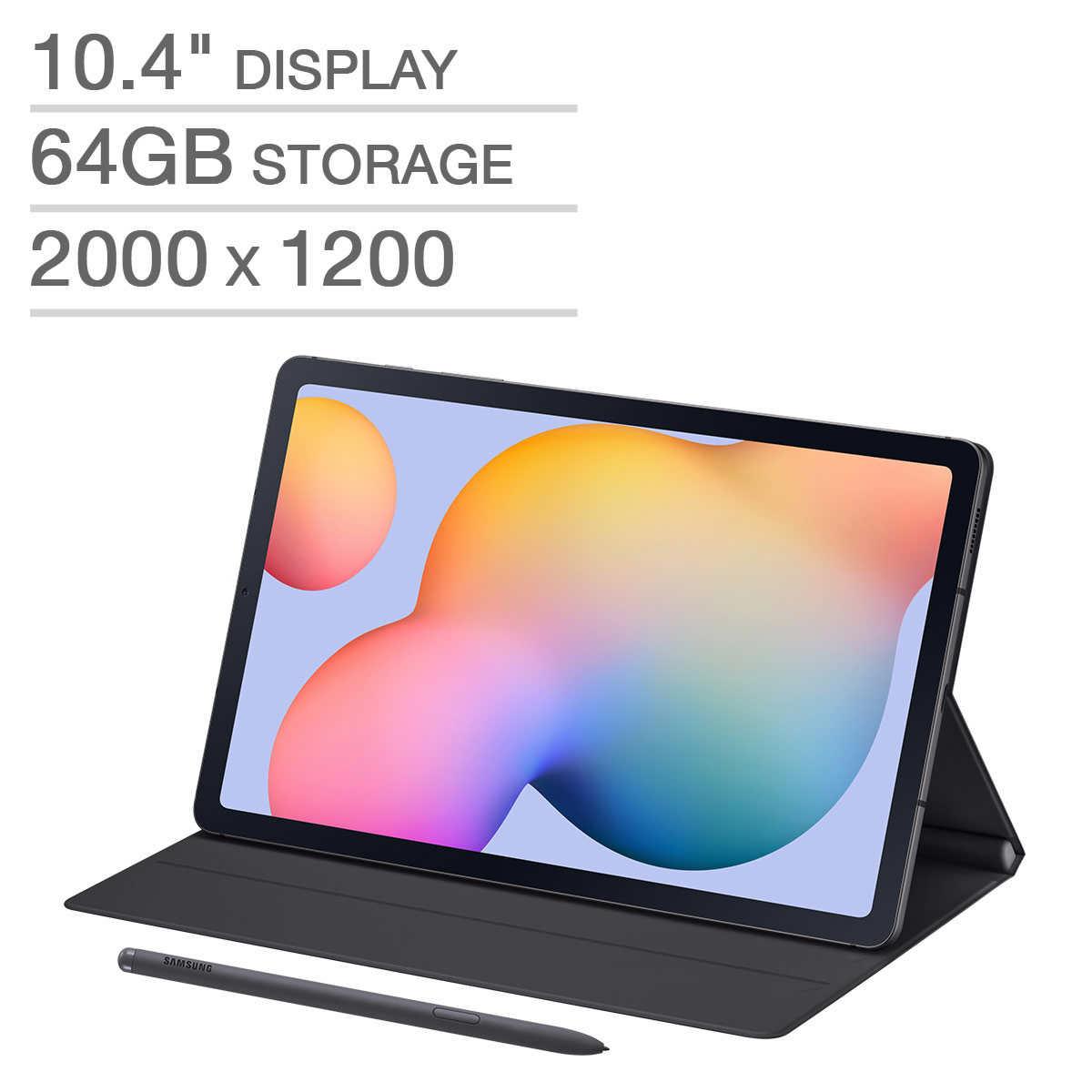 삼성 갤럭시탭S6 라이트 64GB 10.4 인치 WiFi SM-P610 펜포함 정품 북커버 무료 증정