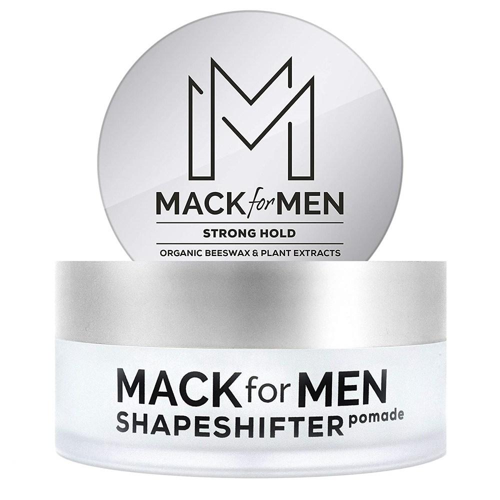 Mack for Men ShapeShifter Pomade Strong Hold 맥포맨 쉐이프쉬프터 포마드 스트롱홀드 2.5oz(70g), 1개