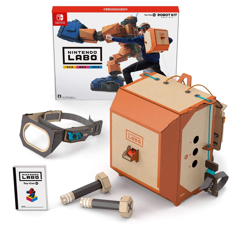 닌텐도 스위치 라보 버라이어티 키트 Toy-Con 01, 없음, Toy-Con 02(로봇킷)
