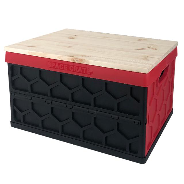 아키아 코스트코 폴딩박스 스페이스 크레이트 전용 상판, 1개, 원목상판-무도색 (박스미포함)