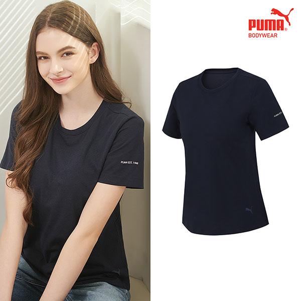 [TOP] 푸마 여성 노브라 티셔츠 1종 네이비