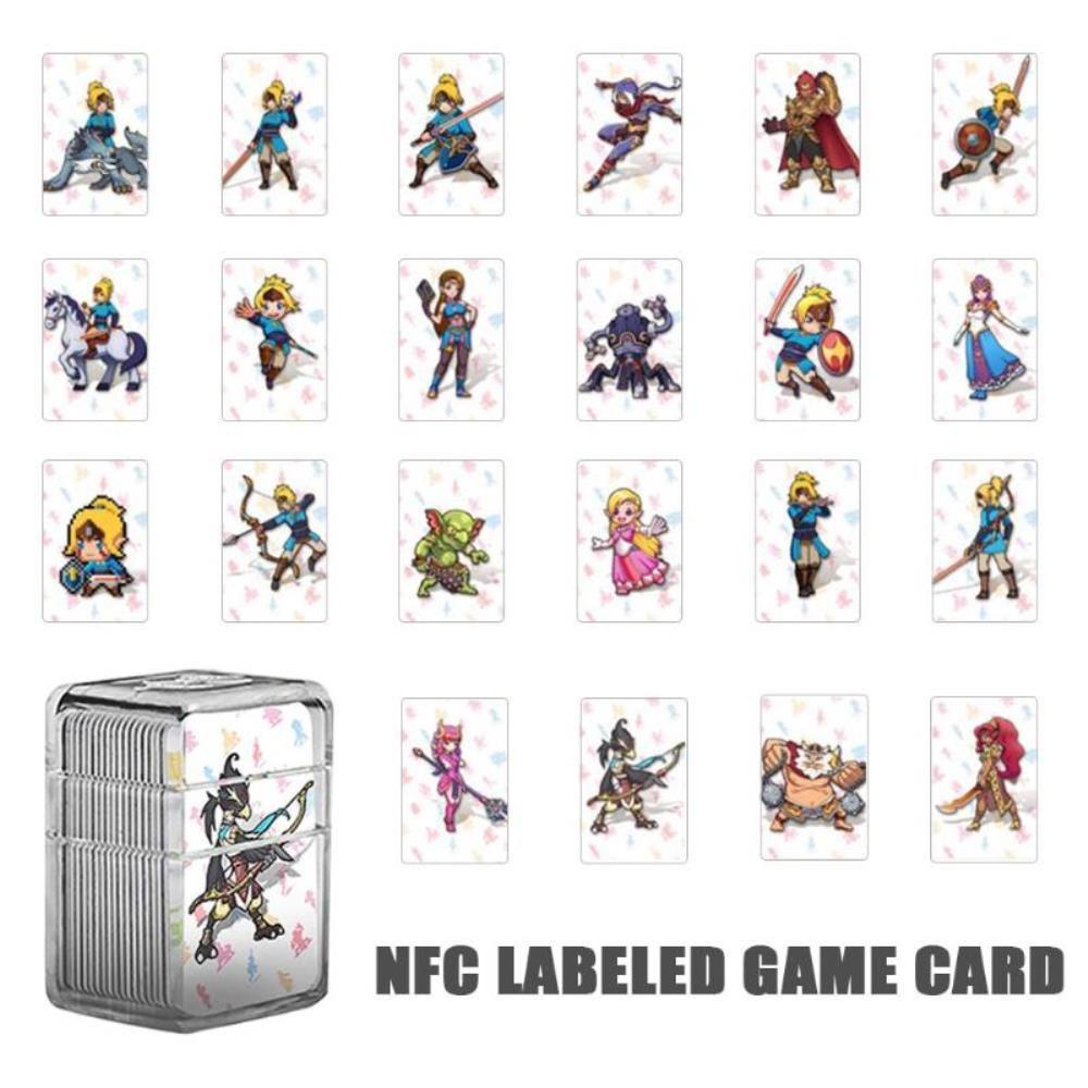 해외직구 닌텐도 스위치 22Pcs amiibo 게임용 태그 젤다 게임 카드, 개인통관부호