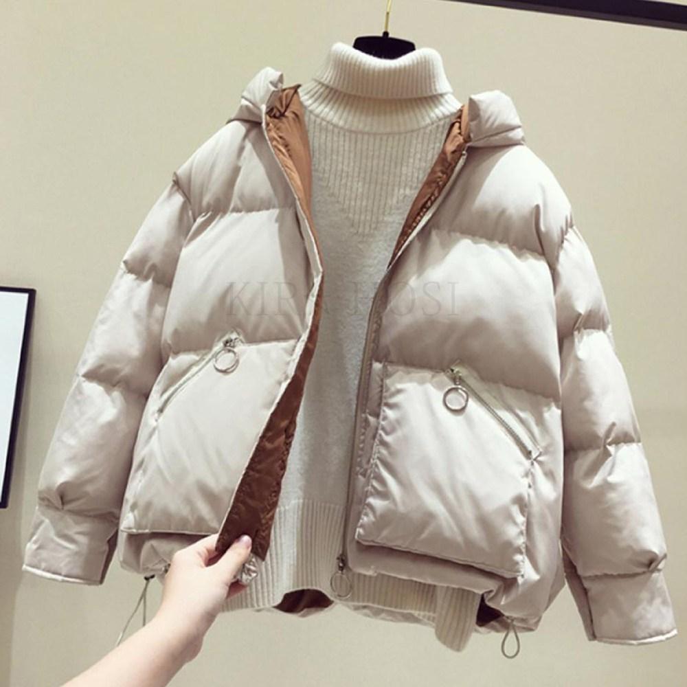 kirahosi 숏패딩 가을 겨울 여성 숏 패딩 점퍼 다운 자켓 아우터 경량패딩 103-58 Da18dzn