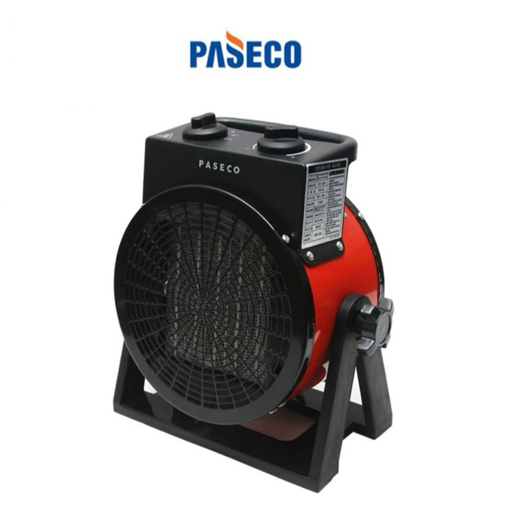 H무배 파세코 팬히터 전기난로 PPH-3K 캠핑용 // 미니팬히터 온풍기 파세고, 1개