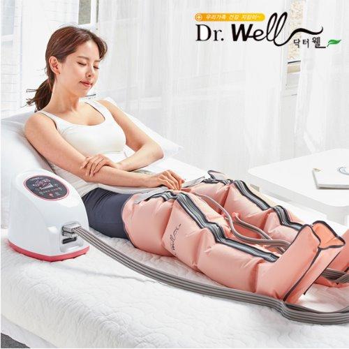 닥터웰 에어라이너 공기압 종아리 발 안마기 HDW5000 마사지기, 공기압다리마사지기