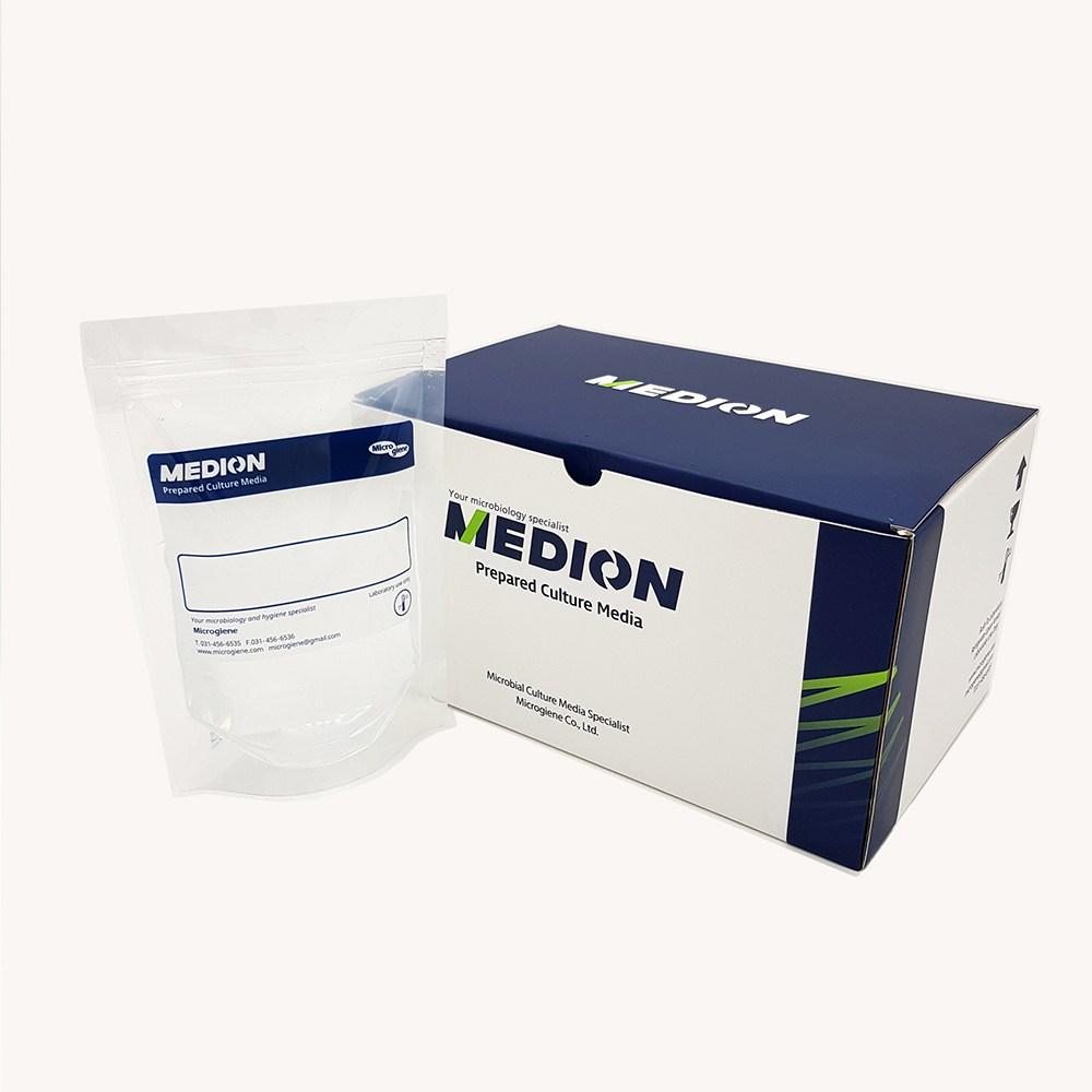 [MEDION]메디온 식품공전 황색포도상구균 생배지 10% NaCl 첨가 TSB 배지 Tryptic Soy Broth(TSB) 225ml(Bag/Bottle), 225ml x 10bag(bag타입)