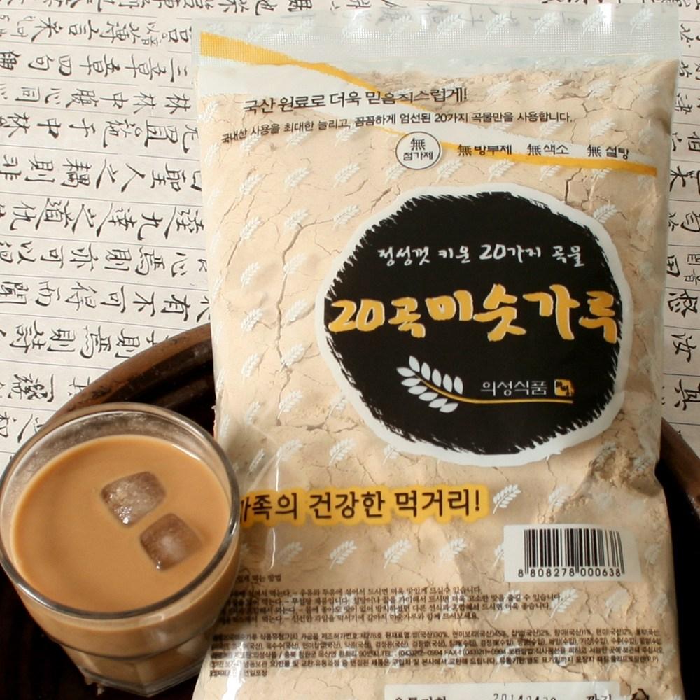 의성식품 20곡미숫가루 1kg 3봉, 3