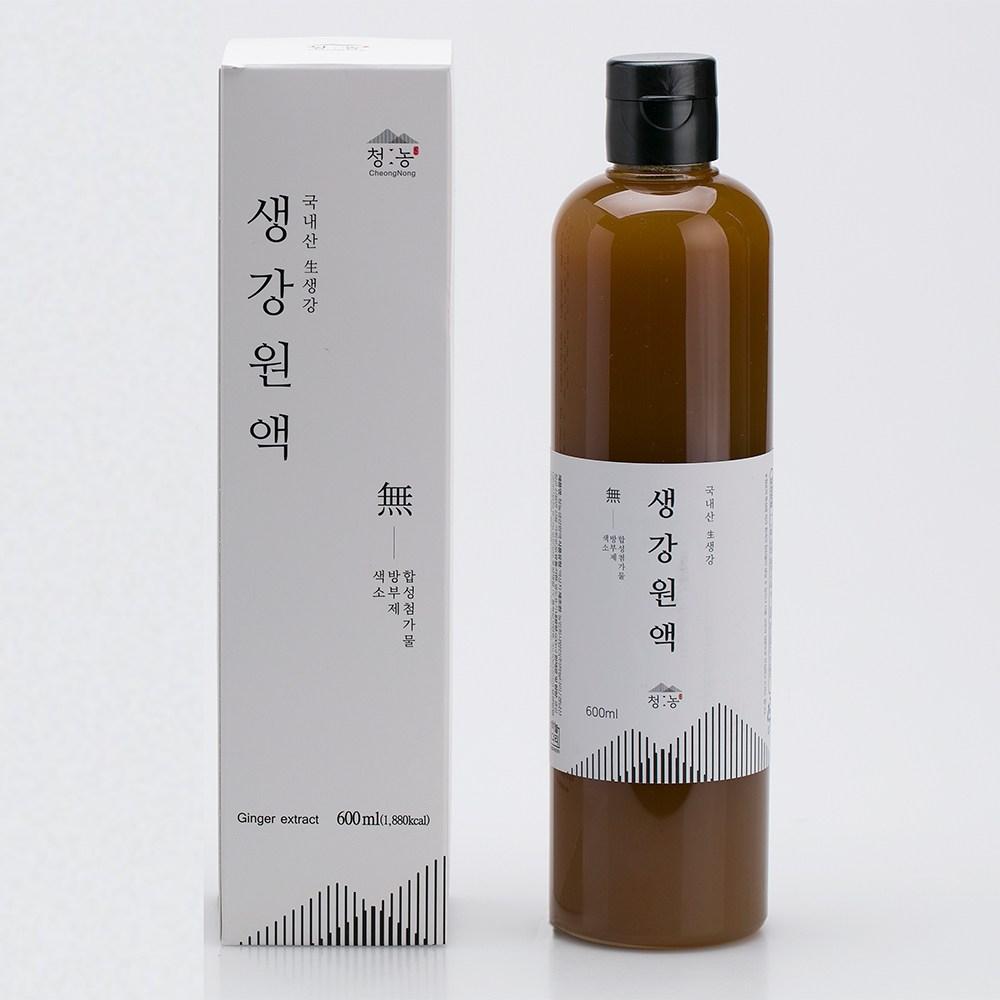 지리산 청정골 산청 프리미엄 청농 생강원액, 400ml, 1병