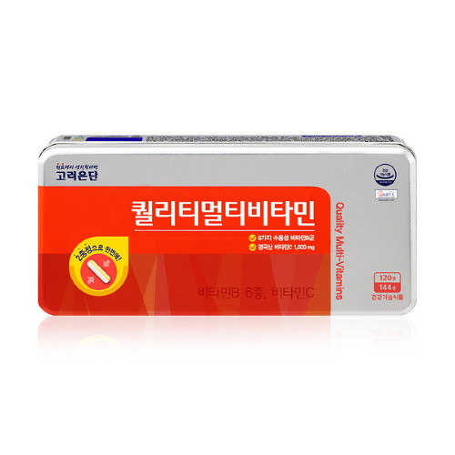 고려은단 퀄리티 멀티 비타민 120정 (4개월분), 선택완료, 단품없음