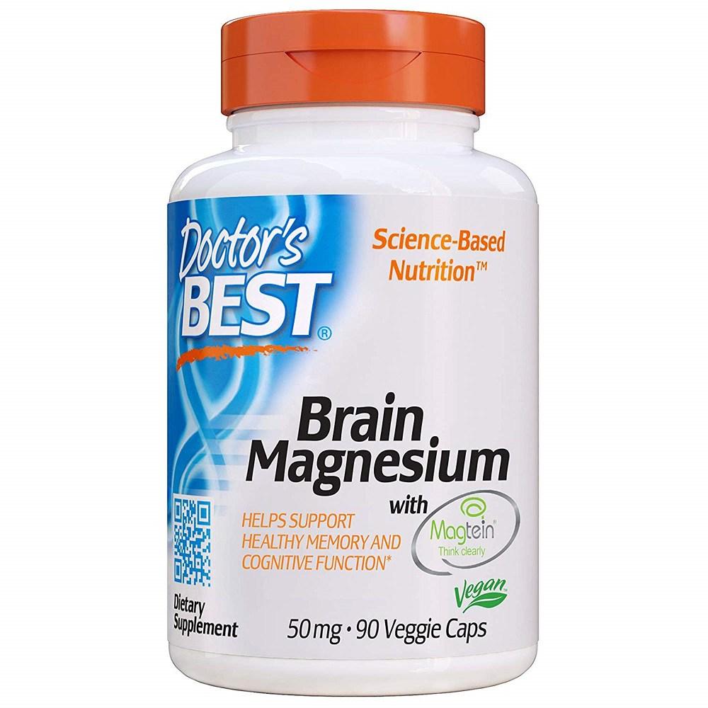 Doctors Best 뇌 마그네슘 90 베지 캡, 1개